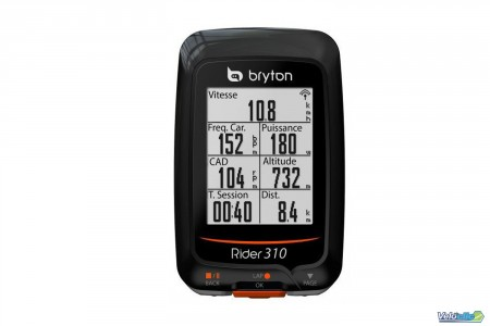 GPS Bryton Rider 310 E