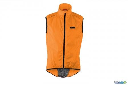 Ktm coupe vent Factory Line Orange manches courtes