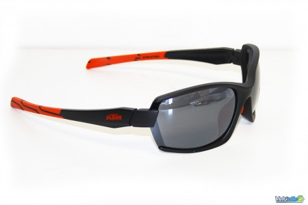 Lunettes KTM Factory Character II panoramiques Noires/rouge