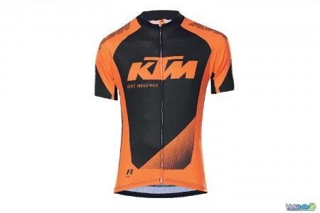 Ktm maillot Factory line II Orange / Noir
