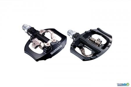 Pédales Shimano PD-A530 Noires