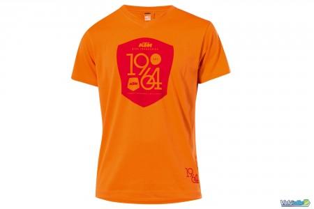 Tee Shirt KTM série limitée 1964 Orange rouge