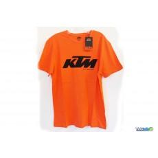 Tee Shirt KTM Factory Team Orange