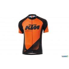Ktm Maillot Factory Junior II manche courte Noir / Orange 2016
