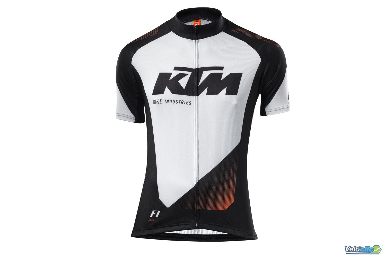 maillot ktm blanc noir 2015