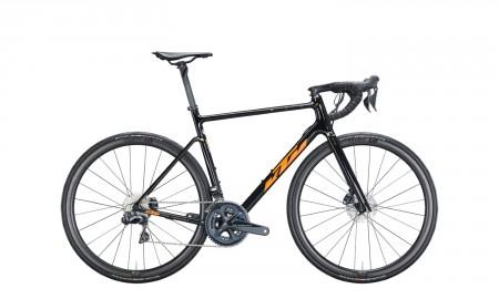 Vélo route Ktm Revelator Alto Master noir orange 2021