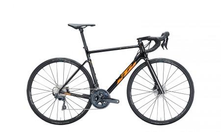Vélo route Ktm Revelator Alto Elite noir orange 2021