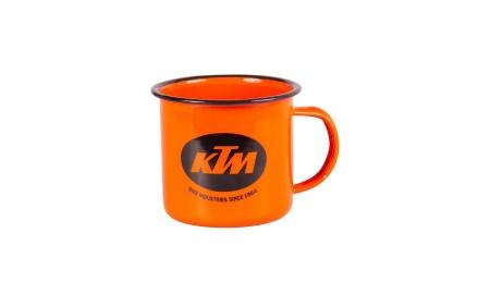 Ktm Bikes Industries tasse acier émaillé