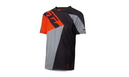 Tee Shirt KTM Factory manches courtes noir/gris/orange