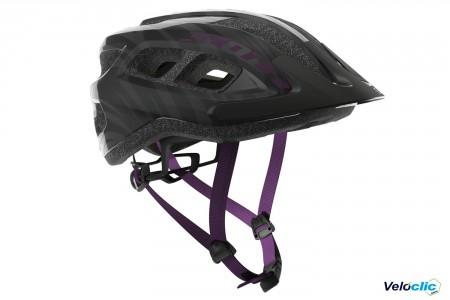 Casque Scott Supra noir / violet