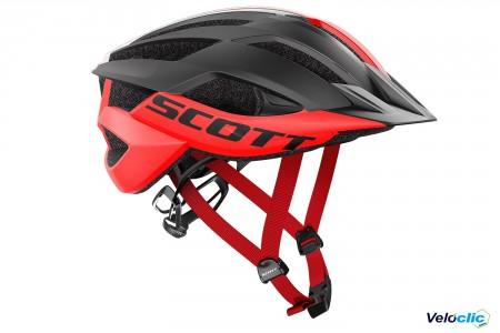 Casque Scott Arx MTB Plus rouge noir