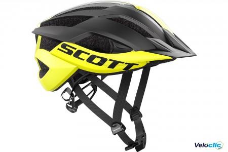 Casque Scott Arx MTB jaune noir