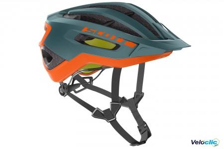 Casque Scott Fuga Plus Rev vert orange