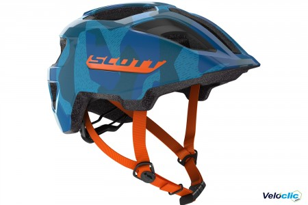 Casque Scott Spunto junior bleu orange