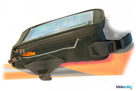 KTM support smartphone sur cadre (top tube)