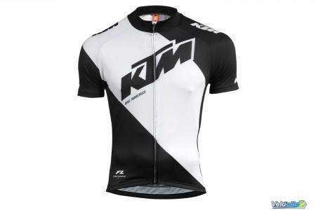 Ktm Maillot Factory Line blanc / noir