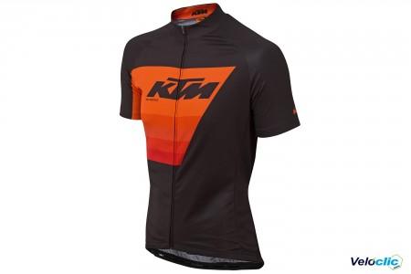 Ktm Maillot Factory Line orange/noir