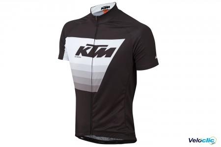 Ktm Maillot Factory Line blanc/noir 2019