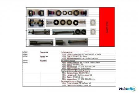 Kit roulements Ktm Comp Scarp / Kapoho / Lycan 2017