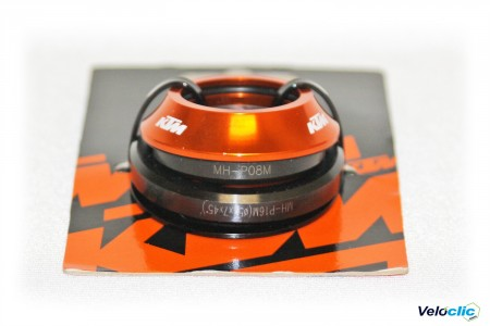 Ktm jeu de direction orange 10 mm cadre Carbone