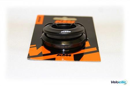 Ktm jeu de direction noir 5 mm cadre Carbone