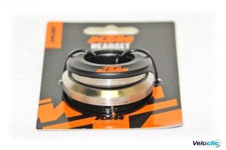 Ktm jeu de direction Prime noir /orange anodisé 1 1/8 - 1.5 VTT