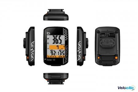 GPS Bryton Rider 10 E Noir