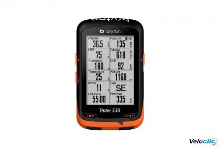 GPS Bryton Rider 530 E