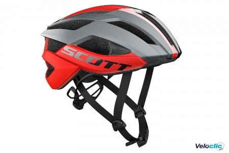 Casque Scott Arx Plus gris / rouge
