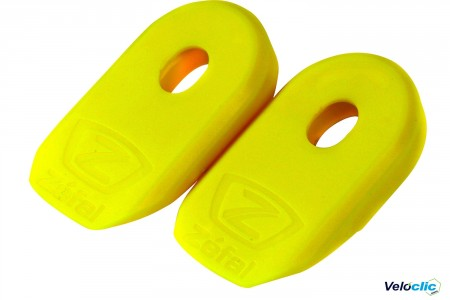 protection manivelles Zefal jaune