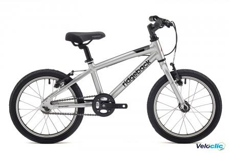 """Vélo enfant Ridgeback Dimension 16"""" Argent"""