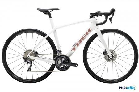 Vélo route Trek Domane SL 6 blanc 2021