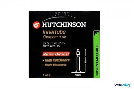 Chambre a air HUTCHINSON 27,5X1,70-2,35 PROTECT'AIR (LIQUIDE ANTICREV.) PRESTA 48MM