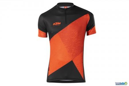 Ktm maillot Factory Character II Vtt Orange / Noir