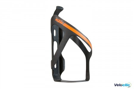 Ktm porte bidon Carbone Asymétrique noir orange