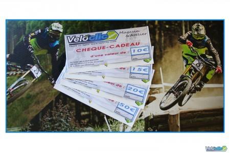 Chèque cadeau Veloclic 50€