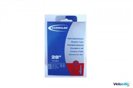 Chambre a air SCHWALBE 700X28-32 B+C STANDARD PRESTA