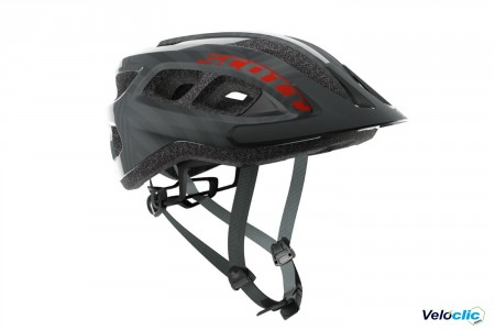 Casque Scott Supra pop gris