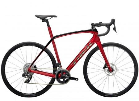 Vélo route Trek Domane SL6 eTAP rouge noir 2021