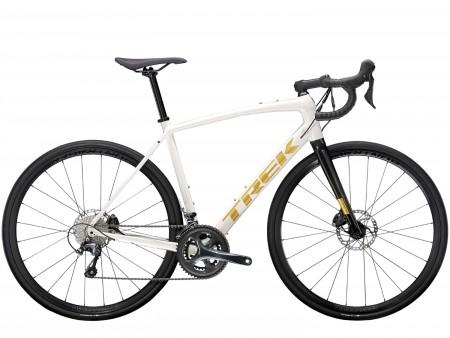 Vélo route Trek Domane AL4 Disc blanc 2021