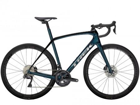 Vélo route Trek Domane SL 7 noir et bleu 2021