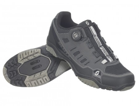 Chaussures Scott Sport Crus-R Boa Dame Gris / Noir 2020