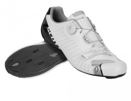 Chaussures Scott Road Comp Boa Blanc / Noir brillant 2020