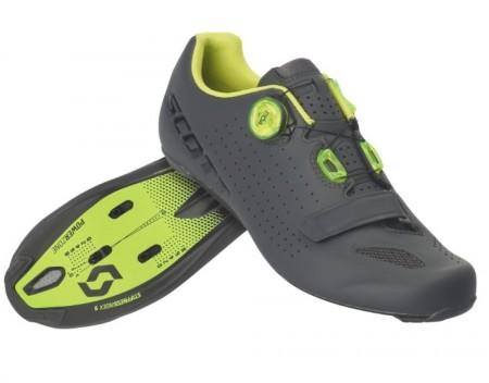 Chaussures Scott Road Vertec Boa Gris / Jaune 2020