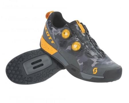 Chaussures Scott Mtb Ar Boa Clip Gris / Orange 2021