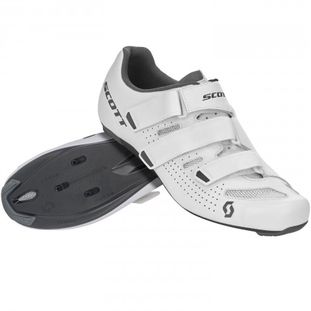 Chaussures Scott Road Comp Blanche / Grise 2020