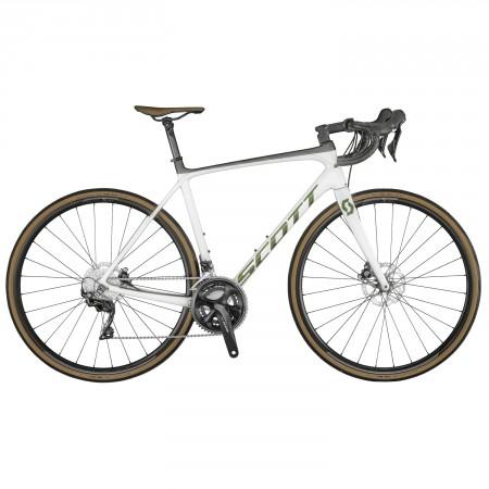 Vélo route Scott Addict 20 Disc blanc 2021