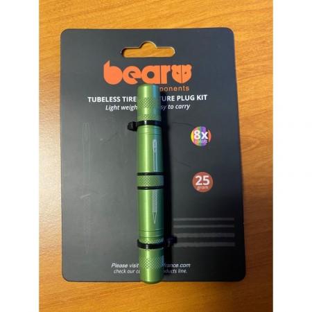 Bear vert kit reparation tubeless 8 mèches