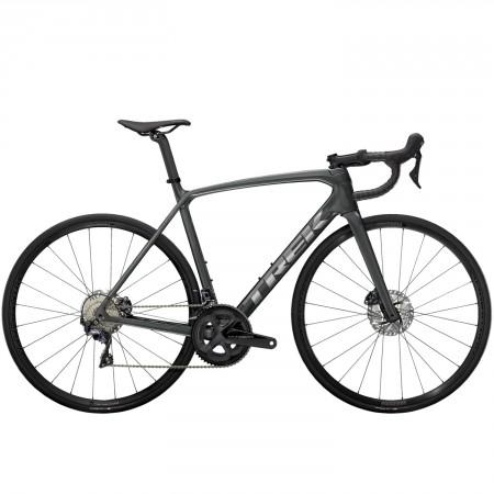Vélo route Trek Emonda SL 6 Disc gris chrome 2021