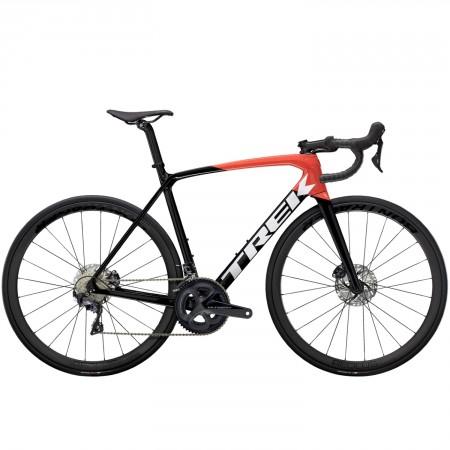 Vélo route Trek Emonda SL 6 Disc Pro noir rouge 2021